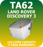 TA62 Auxiliary Long Range Fuel Tank Land Rover Discovery 3