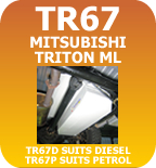 Long Range Replacement Fuel Tank 2007 Mitshubishi Triton ML Diesel TR67D & Petrol TR67P