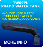 Long Range Replacement Fuel Tank Toyota Prado Plastic Water Tank TW09PL